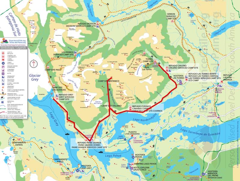 Torres Del Paine Adventure Gaston Sacaze 1gb